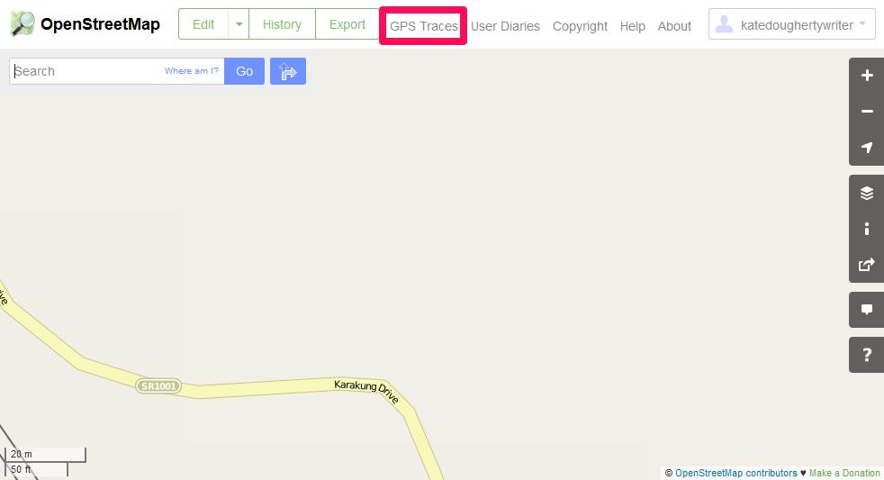 Openstreetmap, gaia gps